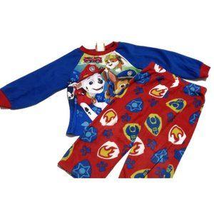 Other - paw patrol fleece pajamas set size 3t long sleeve